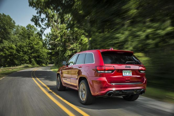Des évolutions symboliques pour le Jeep Grand Cherokee SRT