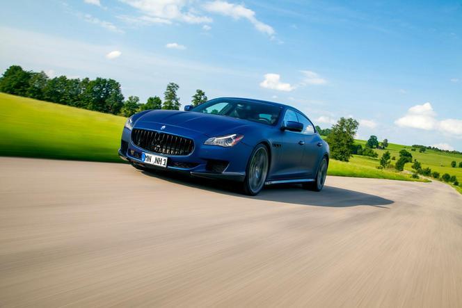 Novitec Tridente propose un programme complet pour la Maserati Quattroporte