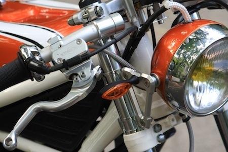 """Prépa """"Bomba"""" sur une base de Yamaha 350 RDLC... Iron Bikers's spirit"""