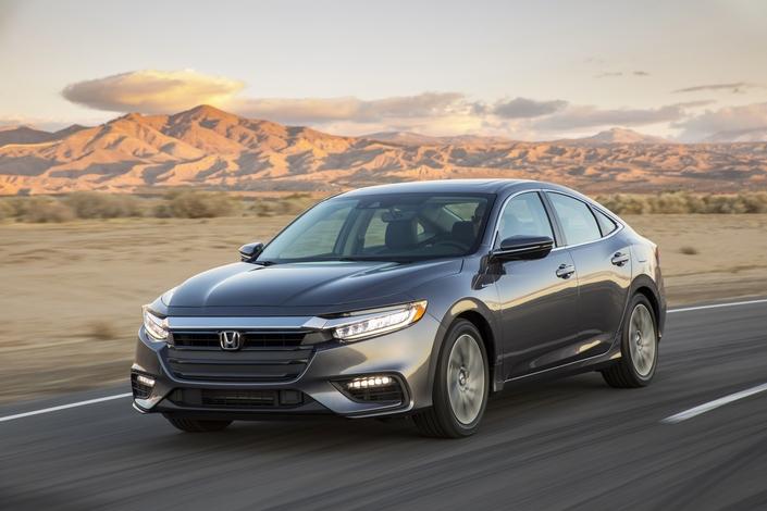 Honda: la berline hybrideInsight fait son retour