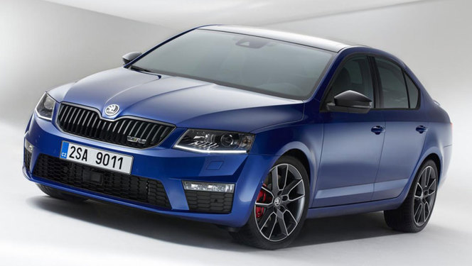 nouvelle skoda octavia rs 220 ch en essence 184 ch en diesel. Black Bedroom Furniture Sets. Home Design Ideas