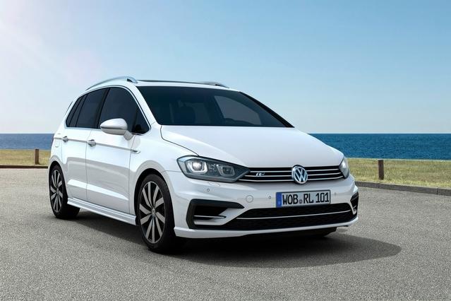 Volkswagen : la Golf Sportsvan R-Line à partir de 29510€