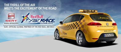 Seat partenaire du Red Bull Air Race