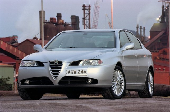 Alfa Romeo 166 : deuxième vie chinoise