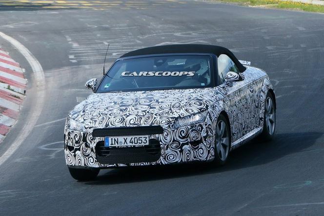 Surprise : l'Audi TT Roadster toujours sur le Ring