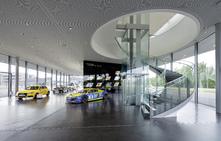 Audi inaugure un complexe high-tech à Neubourg, nouveau fief d'Audi Sport