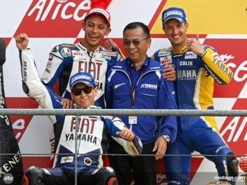 """Moto GP - Yamaha: """"Nous ne pouvons pas arrêter le développement des moteurs"""""""