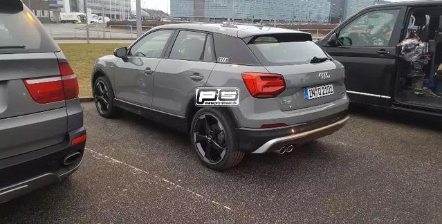 Surprise : le crossover Audi Q2 prend la lumière du jour