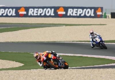 Moto GP: Losail: Hayden: Sans l'avant, on est derrière