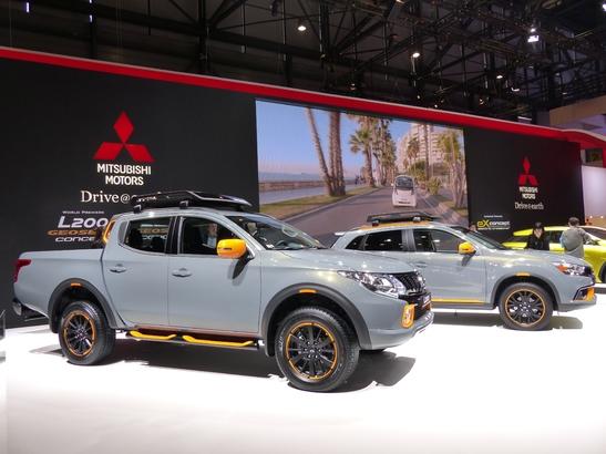 Mitsubishi eX Concept : dédoublement confirmé - En direct du salon de Genève