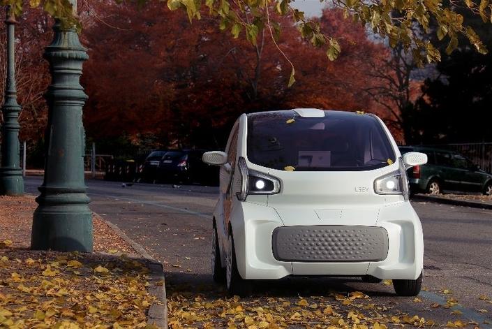 LSEV, la première voiture imprimée en 3D arriverait en 2019