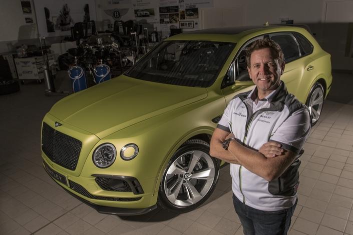 Bentley : le Bentayga prêt... pour Pikes Peak