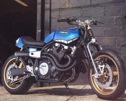 Concept - Yamaha: une Scrambler version XJR1300 !