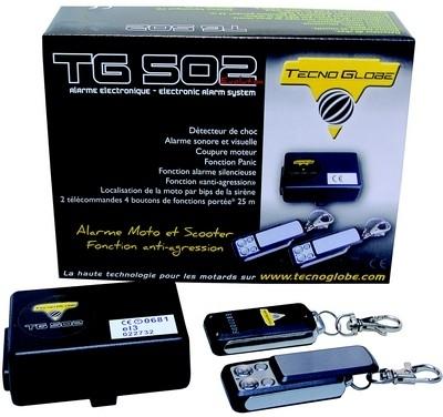 Mini prix mais elle fait le maximum... l'alarme TG 502 Evo.