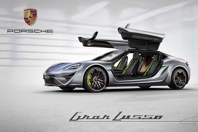 Design - Porsche Gran Lusso Concept par Daniele Pelligra