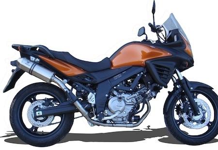 Ixrace: une sortie pour la Suzuki DL 650 V Strom (modèle 2012)
