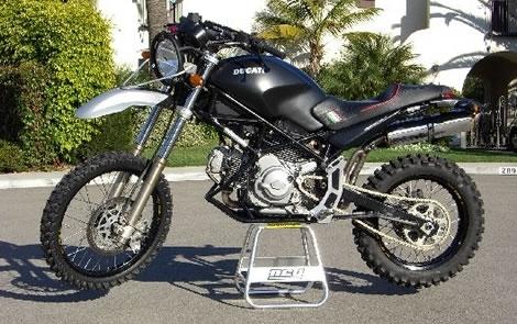 Bientôt une Ducati d'enduro ?