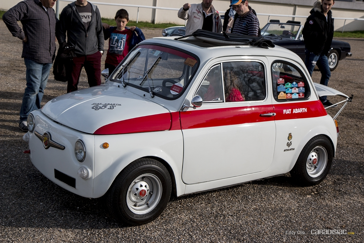photos du jour fiat abarth 695 esseesse cars and coffee paris. Black Bedroom Furniture Sets. Home Design Ideas