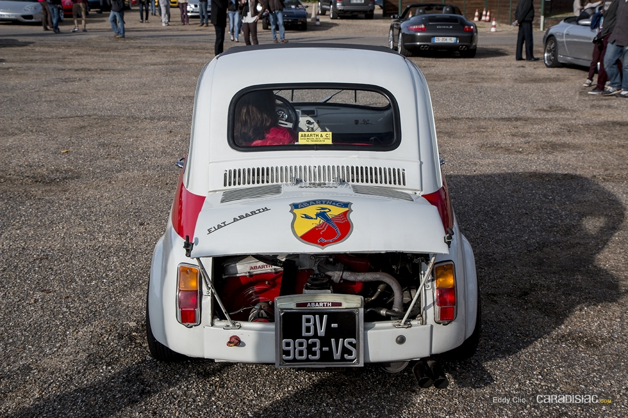 photos du jour fiat abarth 695 esseesse cars and coffee. Black Bedroom Furniture Sets. Home Design Ideas