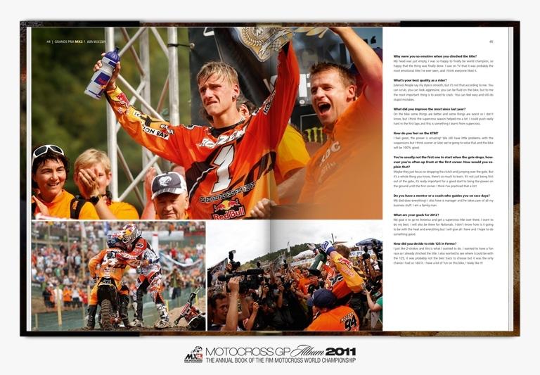 Idée cadeau : le Motocross GP Album 2011 est disponible