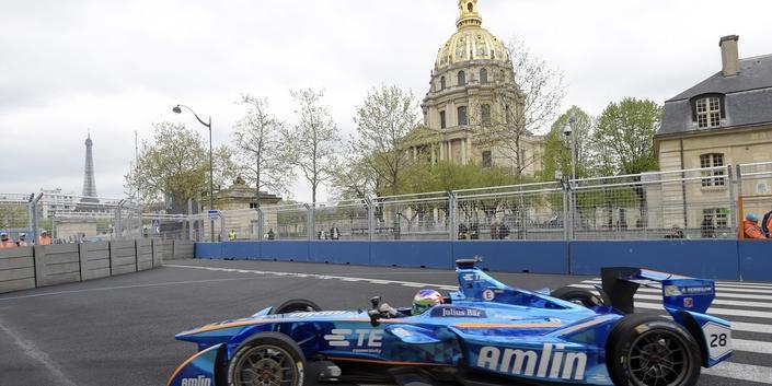 Troisième dition pour l'ePrix de Paris, dont le tracé de 1,9 km n'évolue pas.