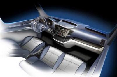 Salon de Hanovre 2014 - Le Hyundai H350 en teasing officiel