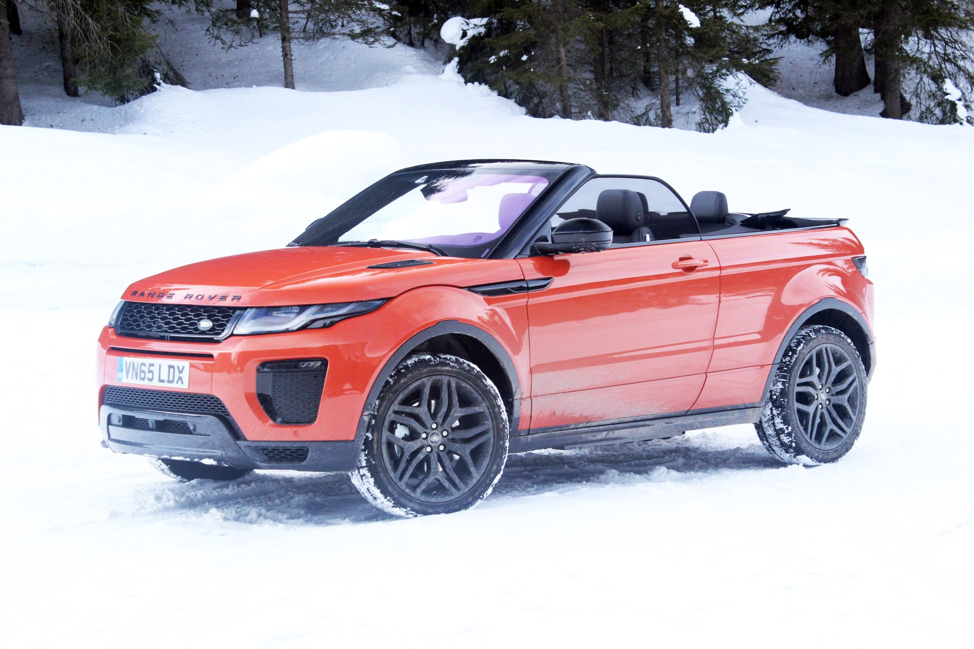 essai vid o range rover evoque cabriolet un petit caprice. Black Bedroom Furniture Sets. Home Design Ideas