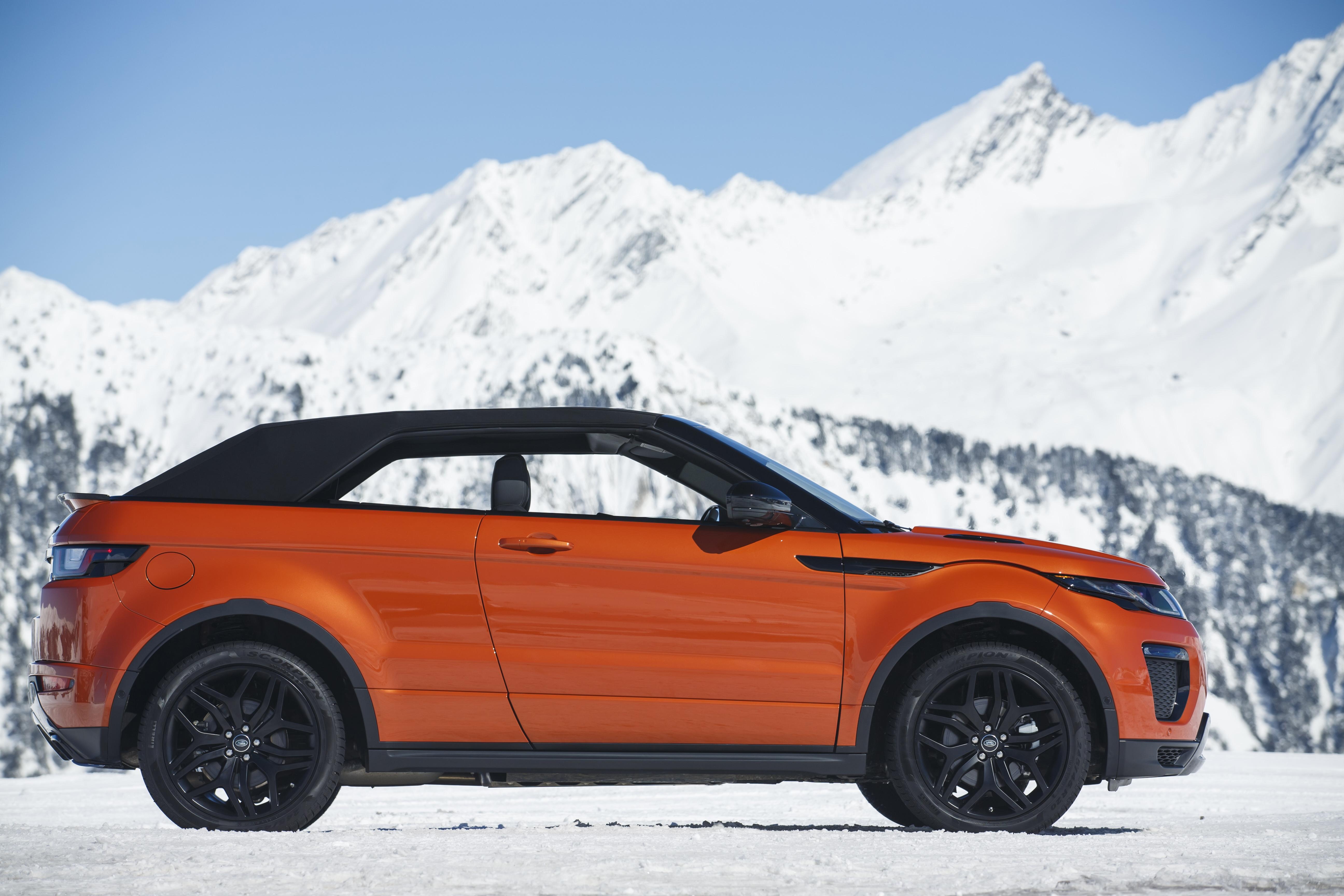 Essai Vid 233 O Range Rover Evoque Cabriolet Un Petit