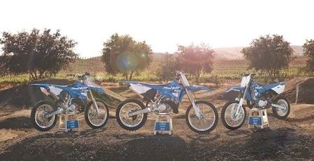MX Pro Tour 2014 : la gamme cross Yamaha 2015 à l'essai