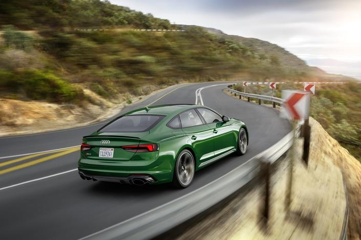 Salon de New York 2018 - Audi RS5: maintenant en Sportback