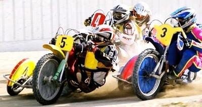 Speedway: 80cv, 85kg et pas de frein: c'est pas pour les lopettes!!!