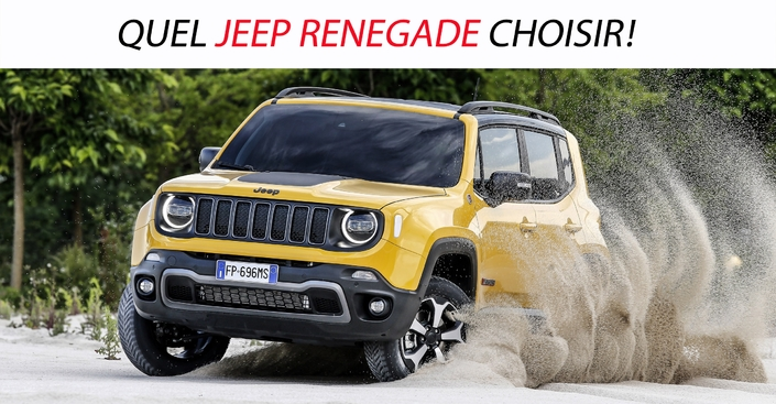 quel jeep renegade choisir. Black Bedroom Furniture Sets. Home Design Ideas