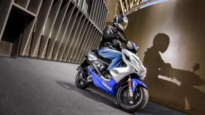 Nouveauté - Yamaha: des couleurs pour la gamme 50 !