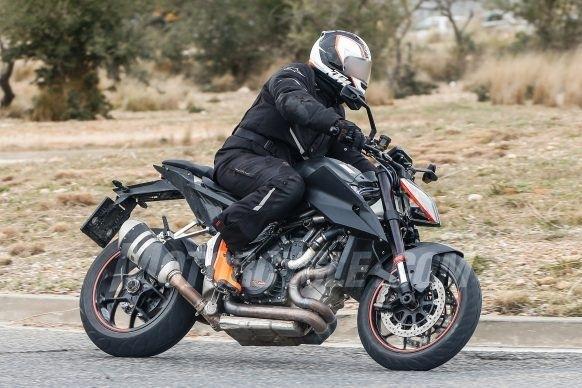 Nouveauté - KTM: la 1290 Super Duke 2019 est en test