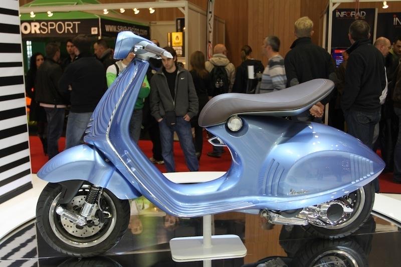 Vespa Novecentoquarantasei : vers une production en 2013 ?