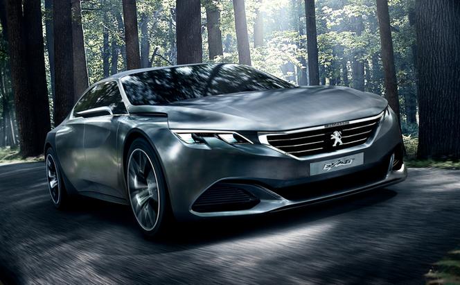 Mondial de Paris 2014 - Le concept Peugeot Exalt revisité