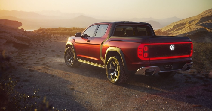 Salon de New York 2018 - Volkswagen présente un concept de grand pick-up