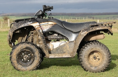 Essai quad Kawasaki KVF300: petit mais costaud