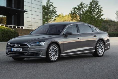 Voiture de luxe : Audi A8