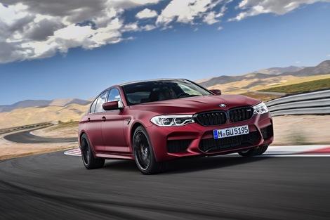 Sportive : BMW M5