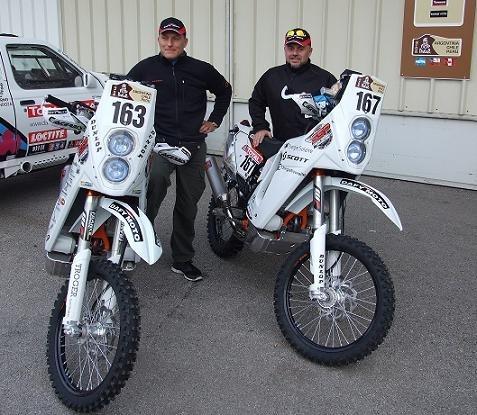 Dakar 2012 : Thierry Dezeiraud, un « poireau » en Argentine