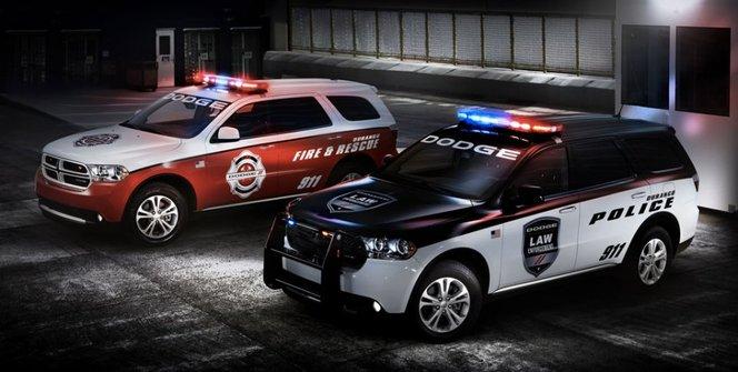 Dodge Durango : pour la police et les pompiers US