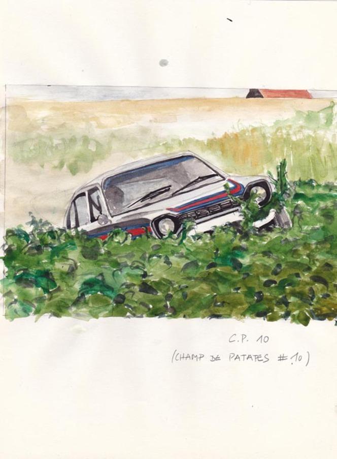 Champs de Patates, par Hélène Baril