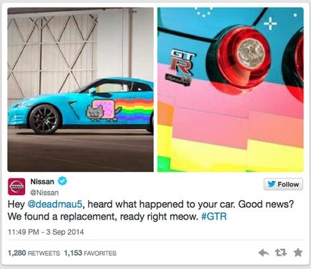 Affaire deadmau5 : Nissan se moque de Ferrari