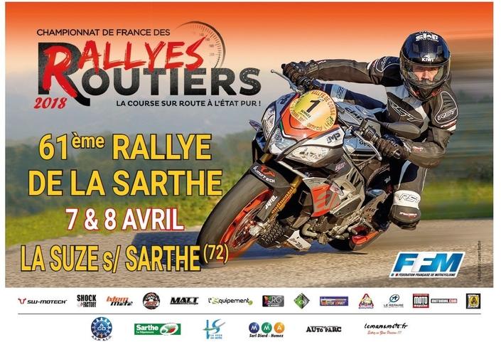 61ème Rallye de la Sarthe : début de la saison 2018
