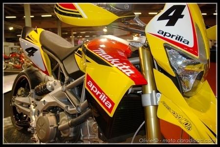 PTS 2009 en direct : Aprilia SMV 750 Dorsoduro «Makita»