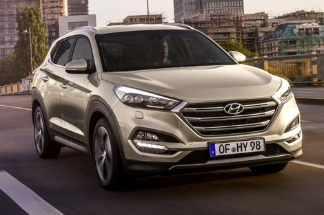Le Tucson avant restylage.