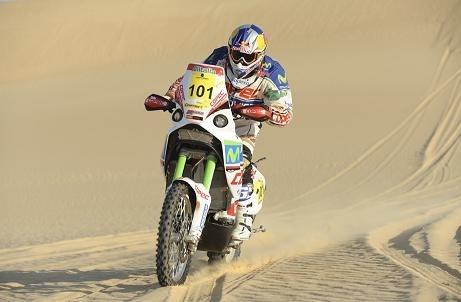 Rallye des Pharaons : 5ème étape, Marc Coma prend la tête du Rallye pour 26 secondes