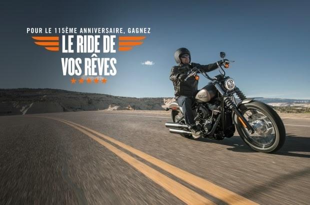 Jeux concours Harley-Davidson: direction les USA pour 10 jours tous frais payés