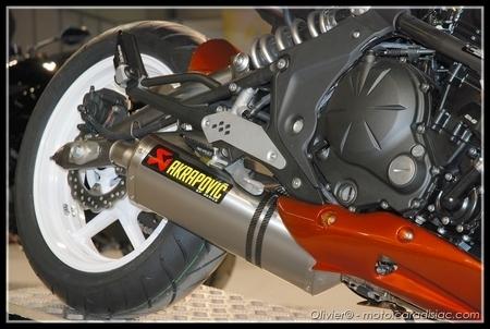 PTS 2009 en direct : Kawasaki Er-6n «orangée»